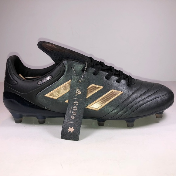 Adidas Copa 17.1 FG Black   Copper Soccer Cleats ccc59b4f9